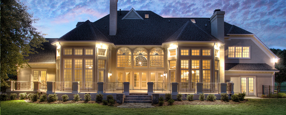 Charlotte luxury homes ballantyne buzz for Luxury country homes